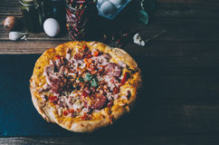 Home Made Pizza Royalty Free Stock Photo