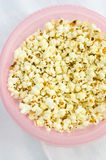 Home made popcorn Royalty Free Stock Photos