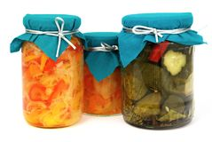 Home-made preserves Royalty Free Stock Image
