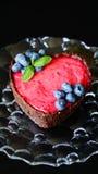 Home made raw healthy dessert, vegan, gluten-free Stock Photos
