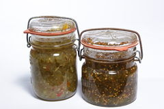 Home Made Relish Royalty Free Stock Photos