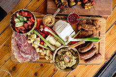 Home made romanian food Royalty Free Stock Photo