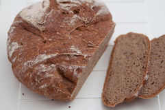 Home made Rye Bread Royalty Free Stock Images