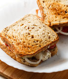 Home made sandwiches Royalty Free Stock Image