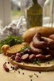 Home-made sausage Royalty Free Stock Photos