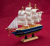 Home-made ship model Royalty Free Stock Image