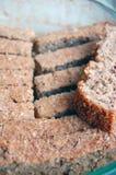 Home made sliced spelt bread Stock Photos