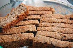 Home made sliced spelt bread Stock Image
