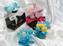 Home made soap home parfum Royalty Free Stock Photography