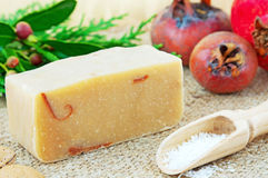 Home-made soap still life Royalty Free Stock Photography