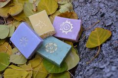 Home-made soaps Royalty Free Stock Image