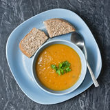 Home made soup Royalty Free Stock Photography