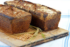Home made sourdough bread Royalty Free Stock Photos
