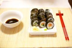 Home made sushi Stock Photo