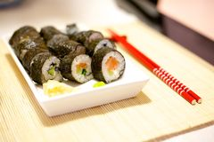 Home made sushi Stock Photography