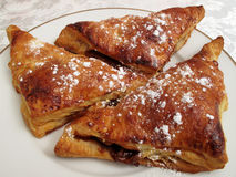 Home Made Turnovers Stock Photo