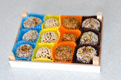 Home made vegan sweets Stock Photography