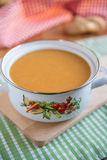 Home made vegetable soup Stock Photography