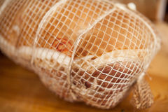Home-made whole boiled ham Royalty Free Stock Photography