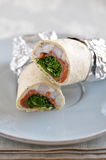 Home made Wraps Royalty Free Stock Image