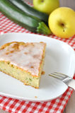 Zucchini Apple Cake Royalty Free Stock Images