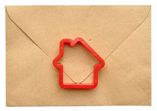 Home mail delivery to the addressee Royalty Free Stock Photos