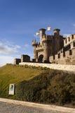 Templar castle in St. James´ way Stock Images