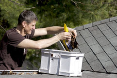 Home Maintenance - Outside Stock Image