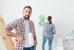 Home makeover Stock Images