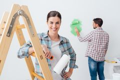 Home makeover Stock Photo