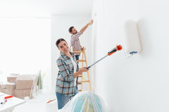 Home makeover Royalty Free Stock Photography