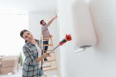 Home makeover Stock Photography