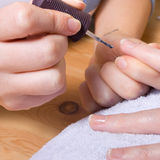 Home Manicure Royalty Free Stock Image