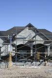 home material till byggnadsställning för konstruktion Royaltyfri Foto