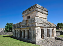 Home maya of tulum Stock Photo