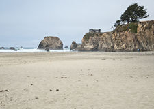 Home on the Mendocino coast, California Stock Image