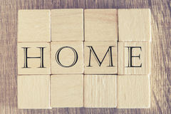 Home message Royalty Free Stock Photo