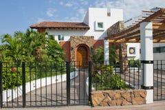 HOME mexicana luxuosa fotografia de stock royalty free