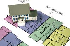 HOME modelo Imagem de Stock Royalty Free
