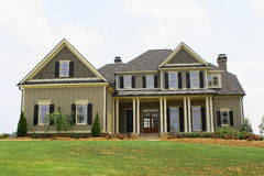 home modernt royaltyfri bild