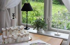 home modernt fönster Royaltyfri Foto