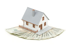 Home and Money Stock Photography