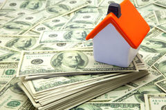 Home and money Royalty Free Stock Photo