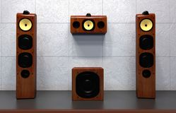 Home Multimedia Speakers Royalty Free Stock Images