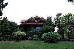 At home. My home in thailand Royalty Free Stock Photography