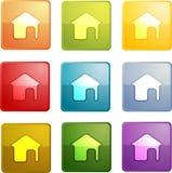 Home navigation icon Stock Image