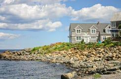 Home near the sea Royalty Free Stock Photos
