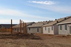 HOME nova sob a construção Fotos de Stock
