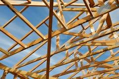 HOME nova sob a construção fotografia de stock royalty free
