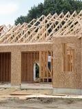 HOME nova sob a construção Imagens de Stock